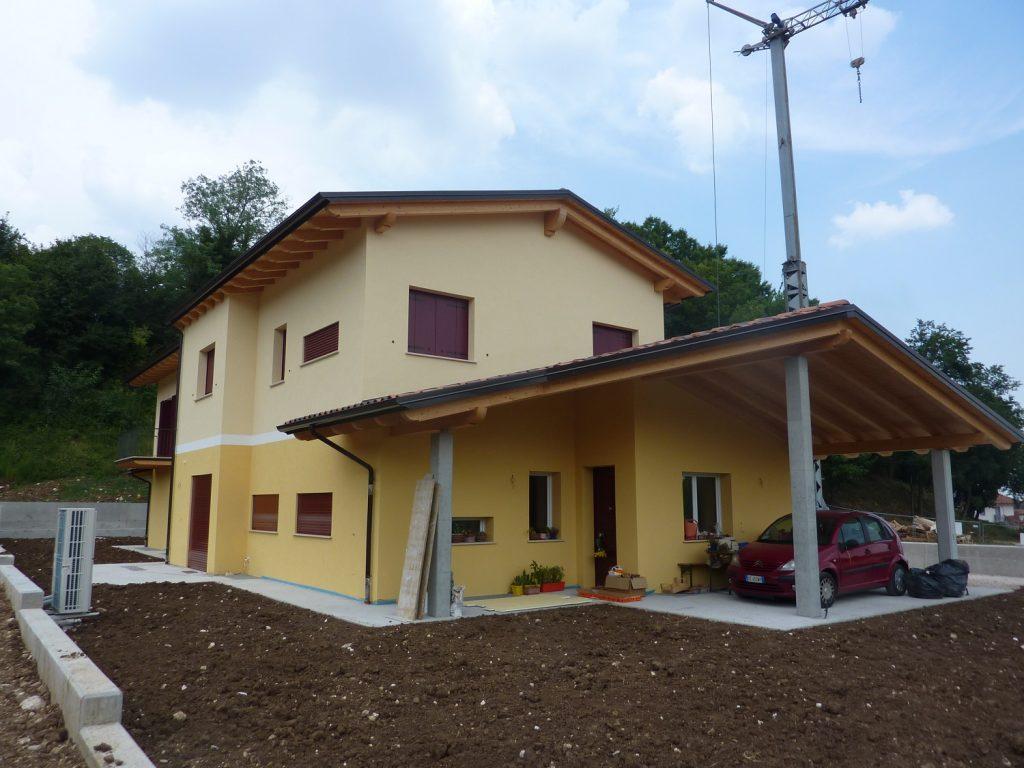 Case in legno vicenza passive ecologiche for Progetti di case piccole
