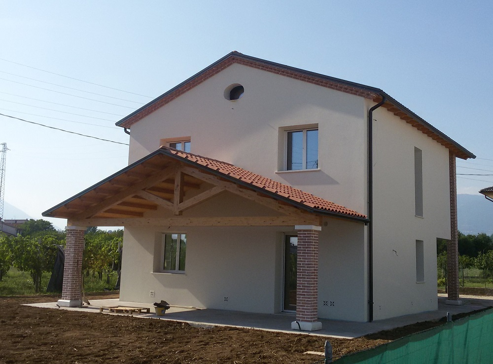 Casa ecologica passiva a breganze vicenza case in legno - Costo costruzione casa in legno ...