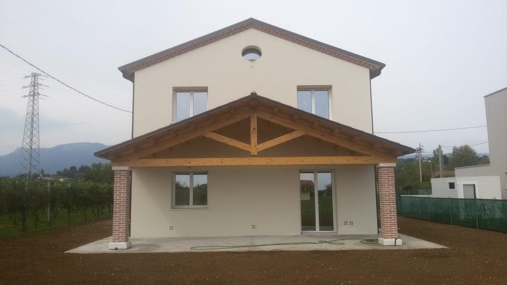 Casa ecologica passiva a breganze vicenza case in legno - Costo architetto costruzione casa ...