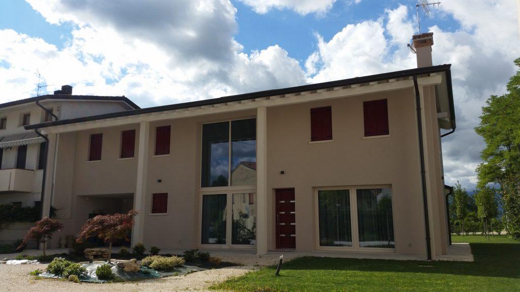 Casa in legno ecologica passiva a cornuda treviso casa for Progetti case ecologiche