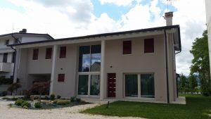 Casa in legno ecologica passiva a cornuda treviso casa in bioedilizia in classe oro casaclima - Casa ecologica prefabbricata prezzi ...
