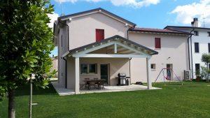 Casa in legno ecologica passiva a cornuda treviso casa in bioedilizia in classe oro - Progetto casa ecologica ...