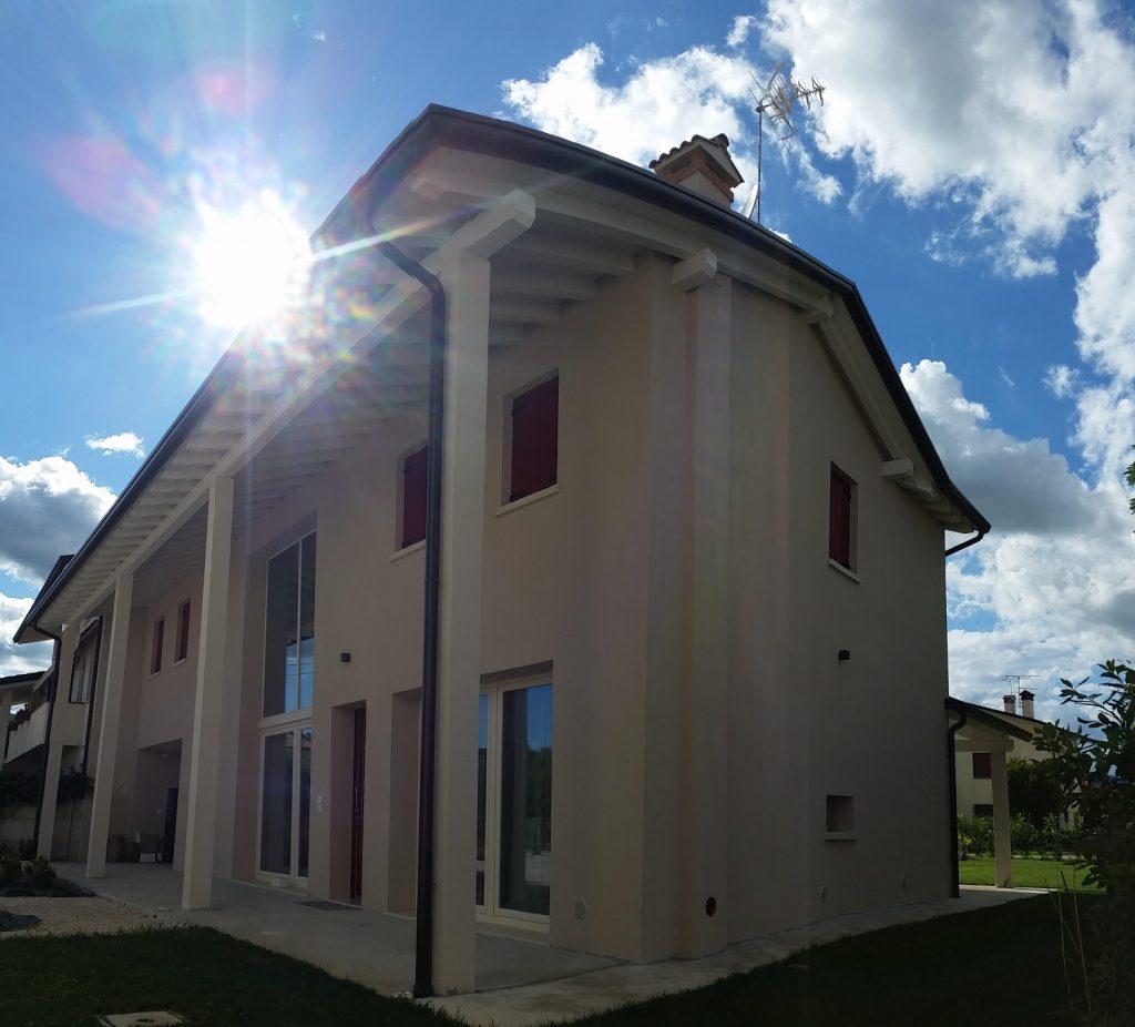 Casa in legno ecologica passiva a cornuda treviso casa for Architettura di casa online