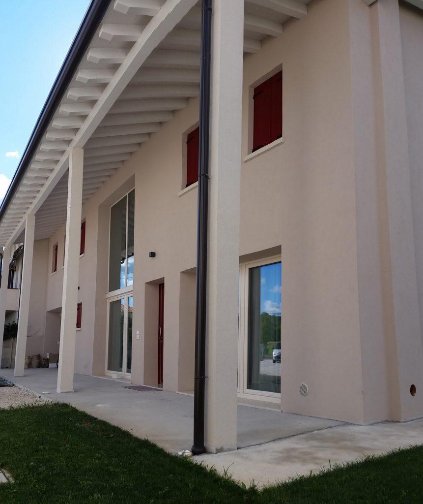 Casa in legno ecologica passiva a cornuda treviso casa - Costo architetto costruzione casa ...