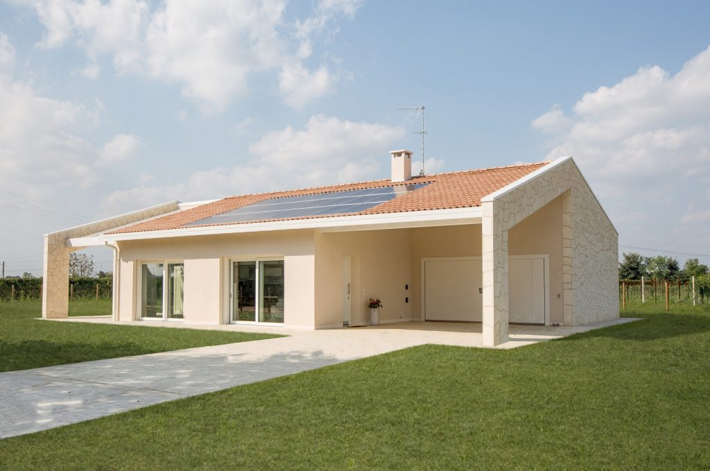 Perfect villa ecologica passiva a salgareda treviso with for Architettura di piccole case