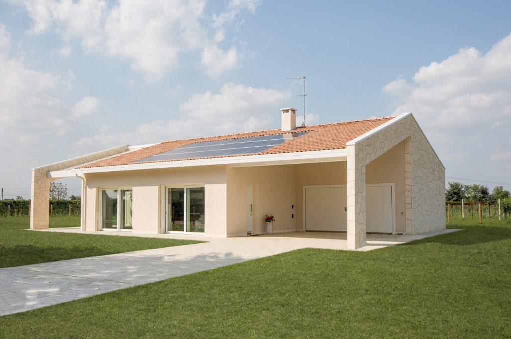 Casa ecologica passiva a salgareda treviso casa in for Architettura case