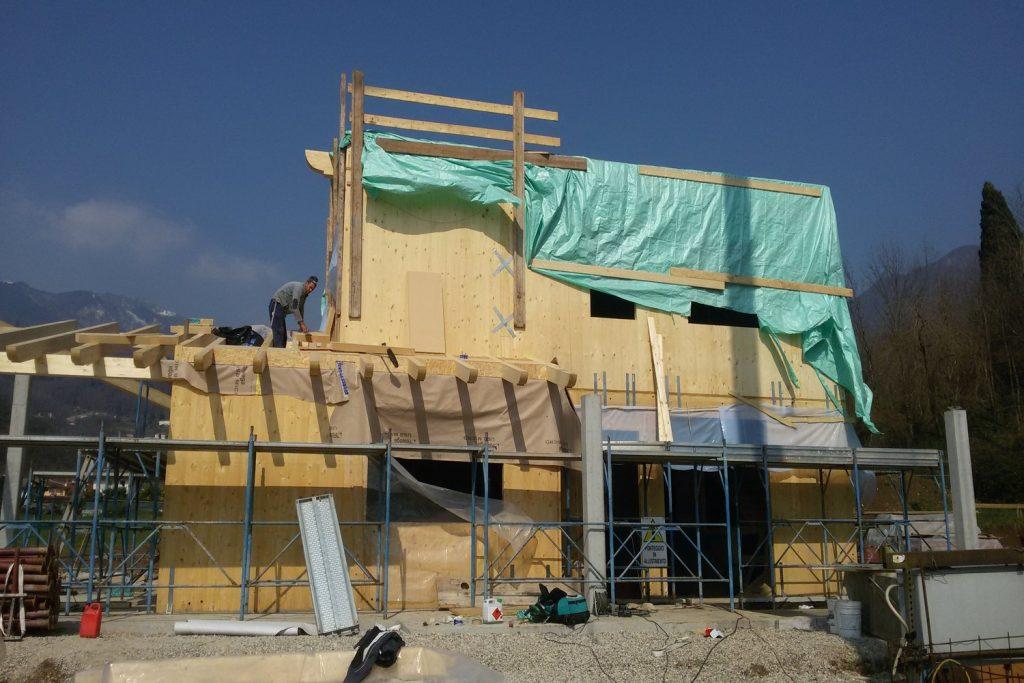 Case in legno a vicenza a telaio o xlam case passive - Casa passiva prefabbricata ...