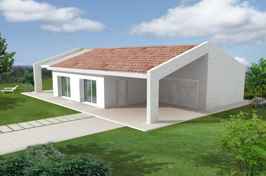 Casa ecologica passiva a salgareda treviso casa in legno in classe oro casaclima - Progetto casa ecologica ...