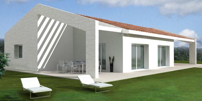 Casa ecologica passiva a pederobba treviso casa in for Casa moderna progetti