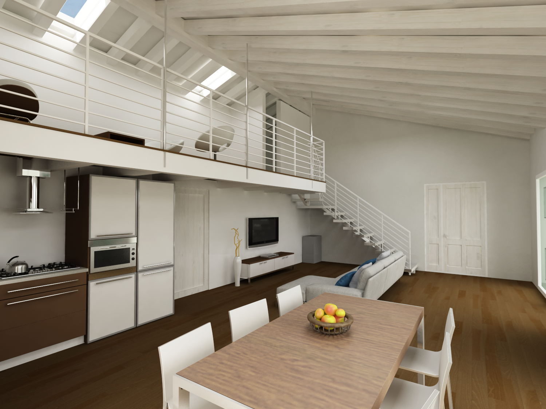 Tende x soggiorno for Case in legno passive