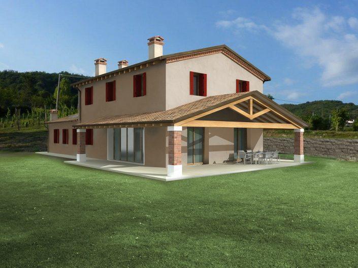 Progetti case in legno vicenza ristrutturazioni edilizie for Case modulari costi