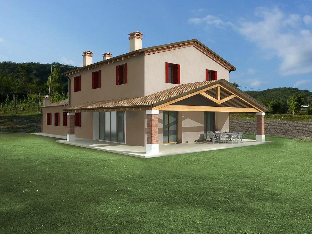 Casa ecologica passiva a pederobba treviso casa in legno architetto studio di architettura - Casa passiva prefabbricata ...