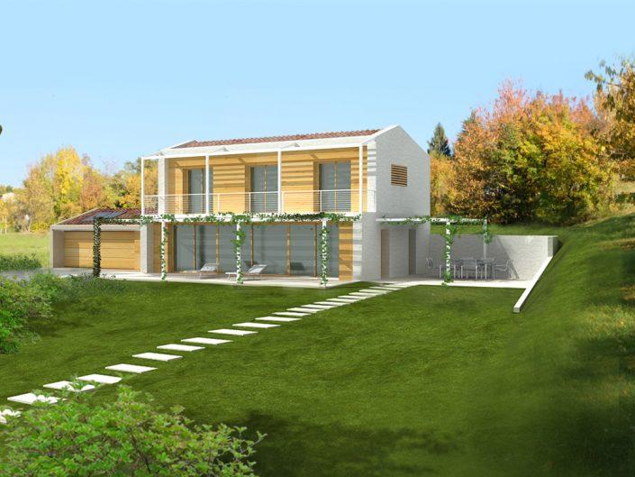 Progetti case in legno vicenza ristrutturazioni edilizie for Progetti di case in campagna
