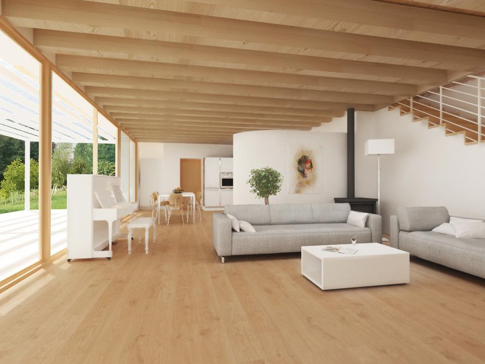 Casa in legno ecologica passiva a chiuppano carr for Architettura di campagna francese