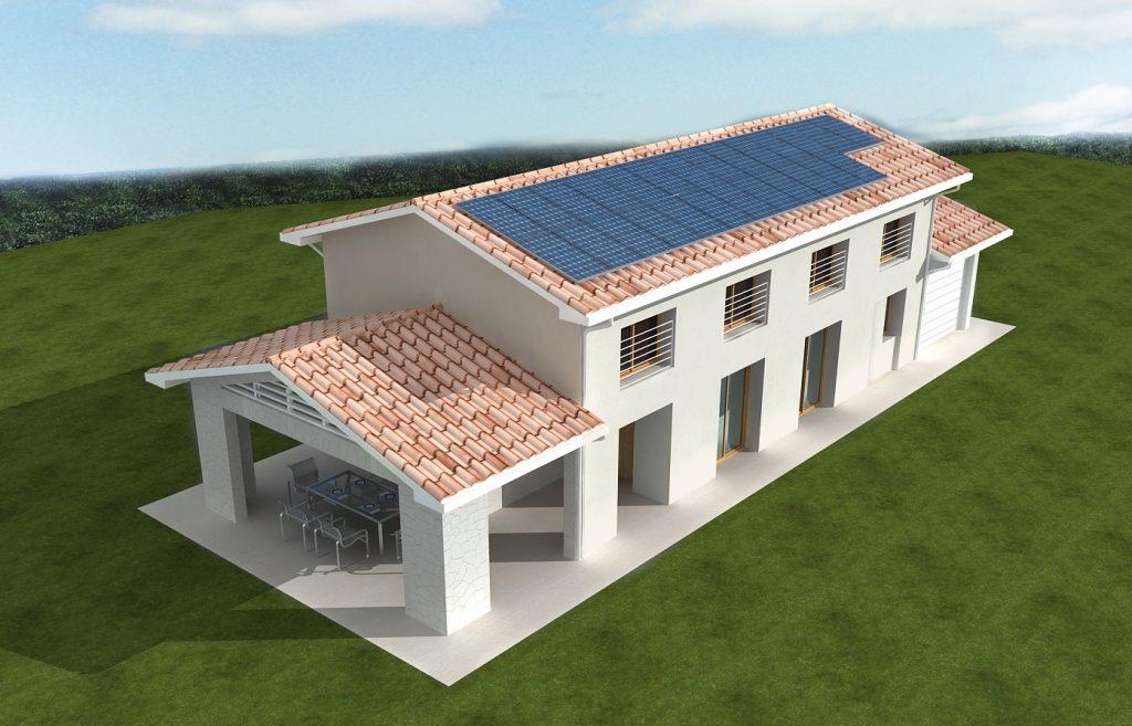Casa ecologica passiva a rubano padova case in legno for Progetti case ecologiche
