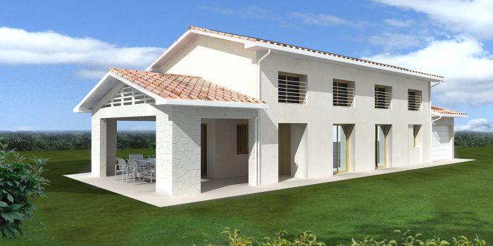 Casa trifamiliare in classe oro casaclima a thiene - Progetto casa ecologica ...