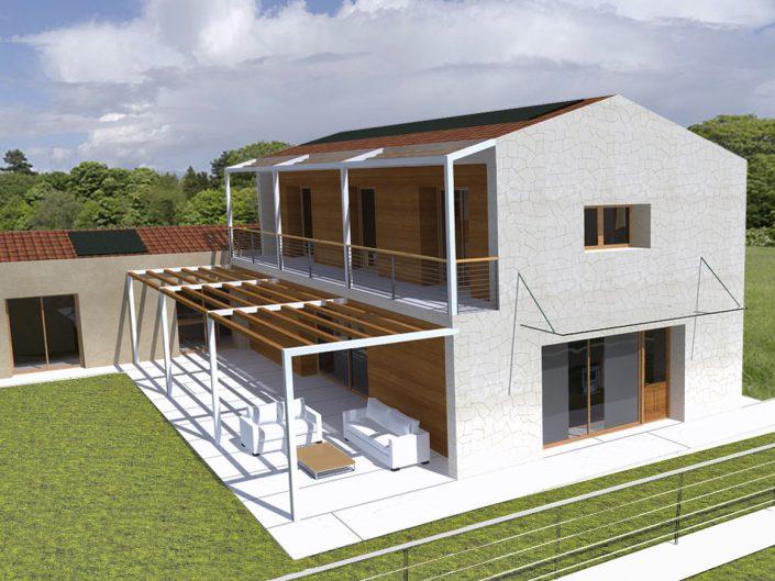 Progetti case in legno vicenza ristrutturazioni edilizie for Progetti di edilizia eco friendly