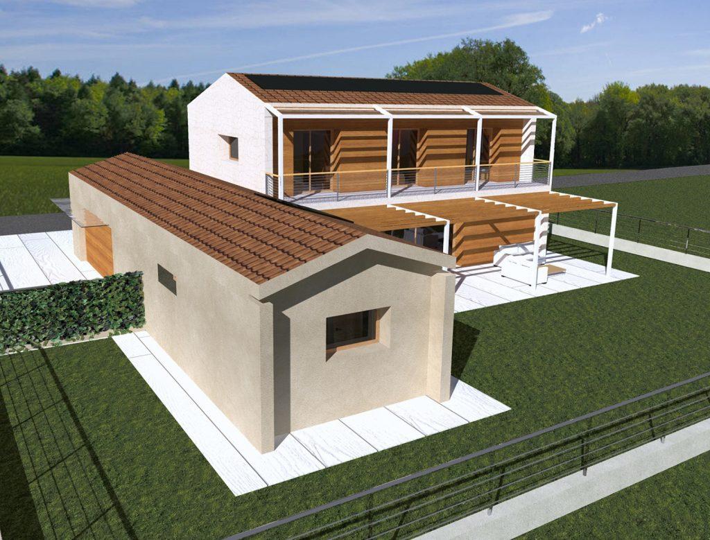 Direzione lavori pratiche edilizie contratti contabilit di - Progetto casa campagna ...