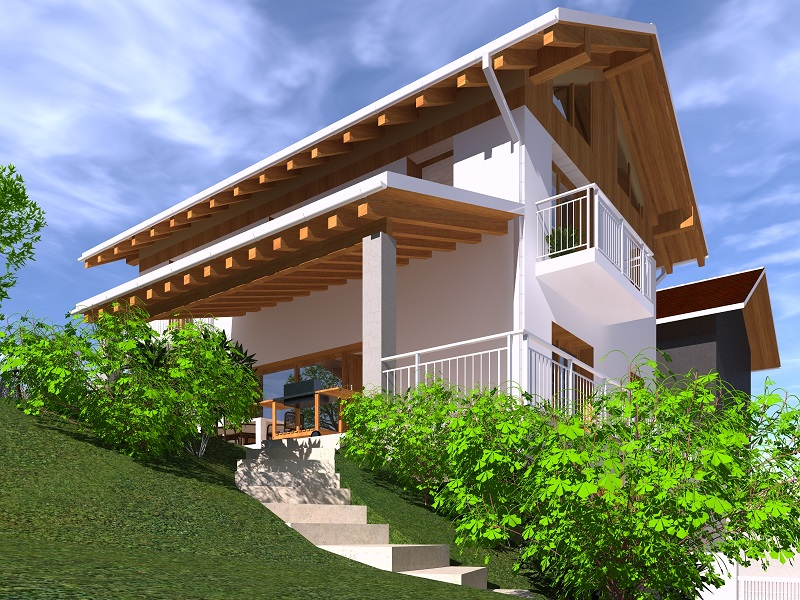 Case in legno di rovereto trento treviso vicenza padova for Case ecologiche costi