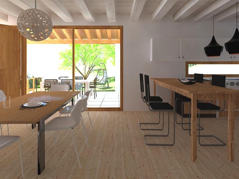 Case in legno di rovereto trento treviso vicenza padova verona venezia casa di prefabbricate - Costi casa in legno ...