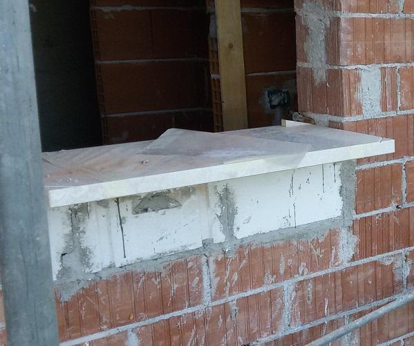 Serramenti migliori di case ecologiche passive e case in legno - Soglie in marmo per finestre ...