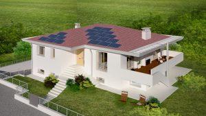 Ristrutturazione edilizia casa in legno ecologica passiva - Progetto casa ecologica ...