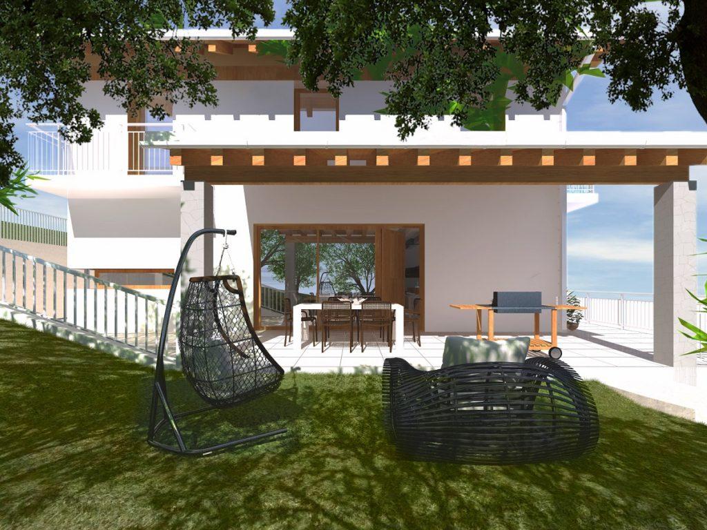 Casa in legno ecologica passiva ad Isera, (Trento). casa in ...