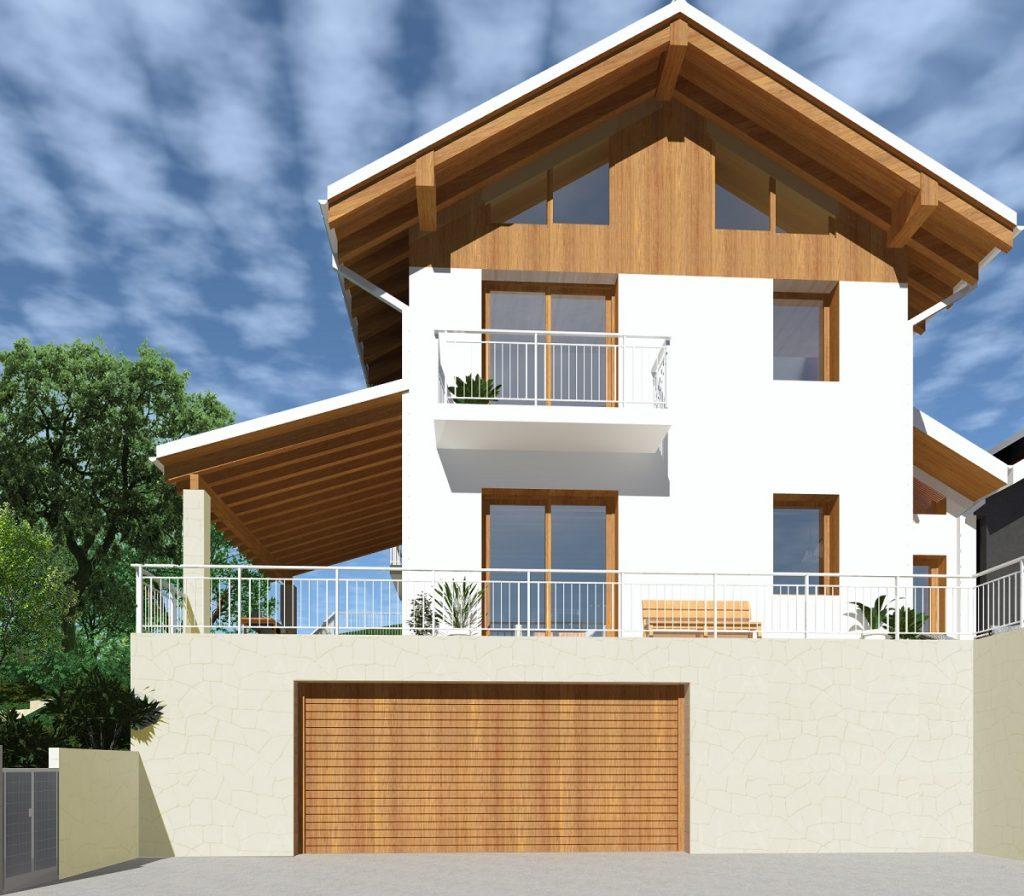casa in legno ecologica passiva ad isera trento casa