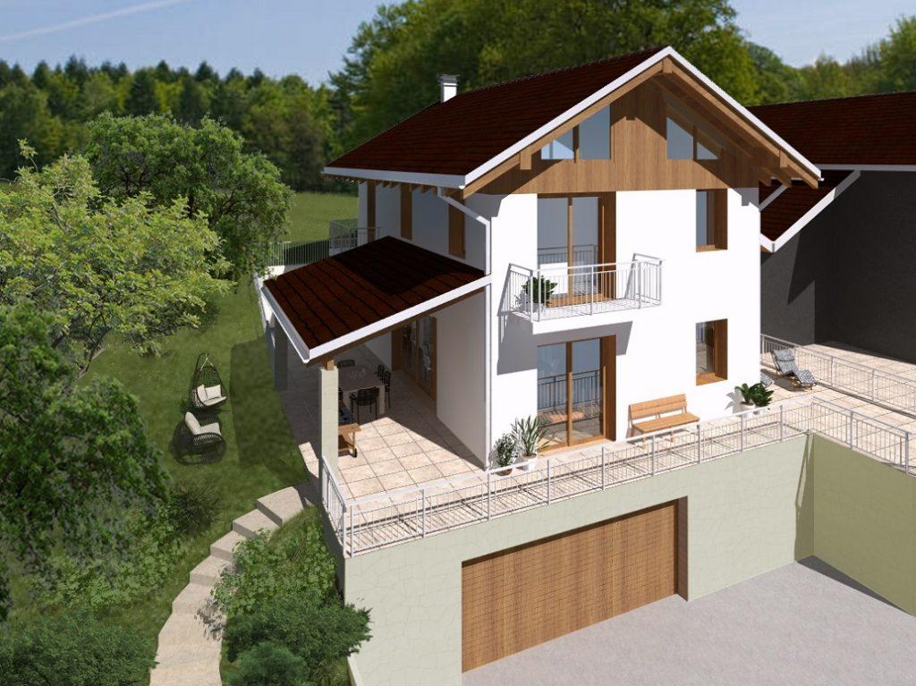 Case In Tronchi Di Legno Trentino : Casa in legno trentino