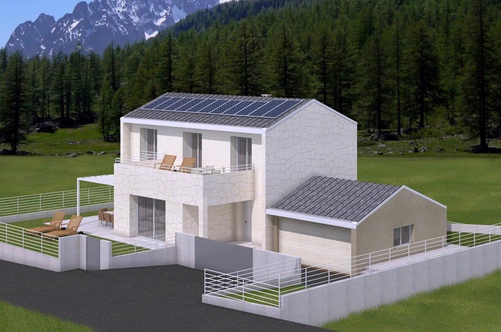 Casa ecologica passiva a belluno case in legno studio di architettura - Progetto casa ecologica ...