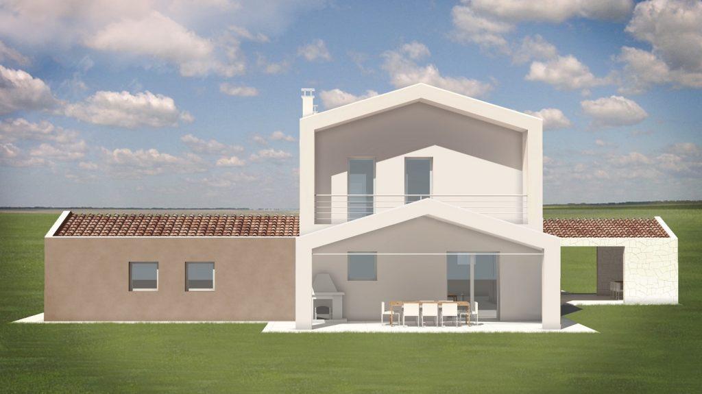 Casa ecologica passiva a montagnana padova case in legno studio di architettura - Progetto casa ecologica ...