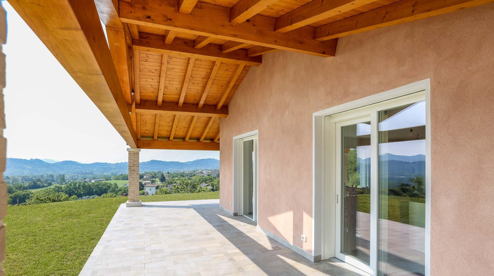 Interni Case Prefabbricate In Legno case in legno vicenza, case passive, case in bioedilizia
